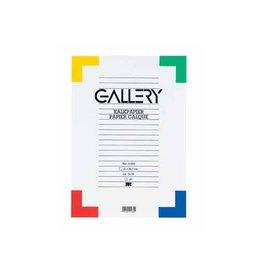 Gallery Gallery kalkpapier ft 21 x 29,7 cm (A4), etui van 20 blad