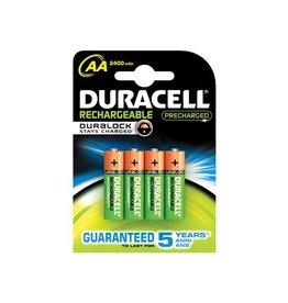 Duracell Duracell oplaadbaar aa 2400mah (4st)