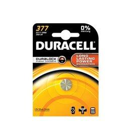 Duracell Batterij Duracell 377 duralock zilver ox