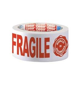 "Tesa Tesa verpakkingsplakband ""FRAGILE"", ft 50 mm x 66 m"