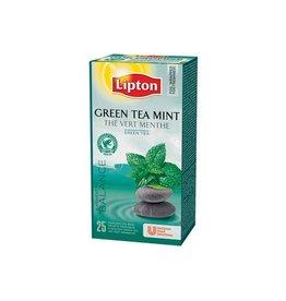 Lipton Thee Lipton green tea mint met envelop 25stuks
