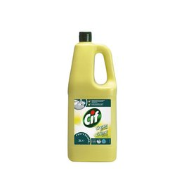 Cif Cif schuurcrème citroen, flacon van 2 liter
