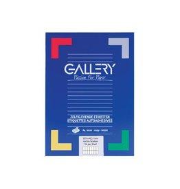 Gallery Gallery witte etiketten ft 105 x 42,3 mm 1400st.