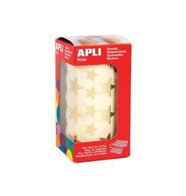 Apli Kids Apli Stickers ster, goud, 2360 stuks