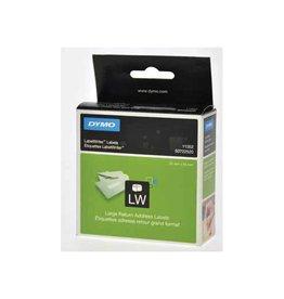 Dymo Dymo etiketten LabelWriter ft 25 x 54 mm, wit, 500 etiketten