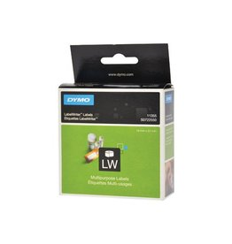 Dymo Dymo etik. LabelWriter 19x51mm verwijderbaar, wit, 500 etik.
