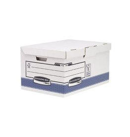 Bankers Box Bankers Box System, opbergdoos flip top maxi, blauw [10st]
