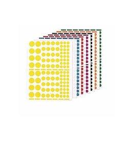 Agipa Agipa Stickers 1.040 stuks, cirkels