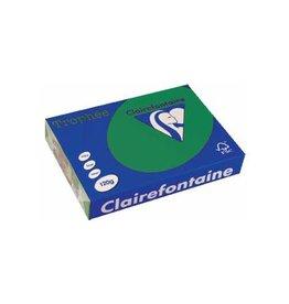 Clairefontaine Papier Clairefontaine Trophée Intens A4 dennengroen, 120 g, 250 vel