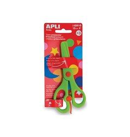Apli Kids Apli schaar kleuterschool groen 13cm