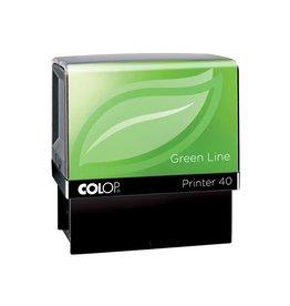 Colop Colop stempel Green Line Printer Printer 40, max. 6 regels,