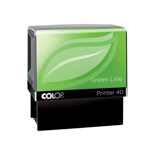 Colop Colop stempel Green Line Printer Printer 40, max. 6 regels, voor Neder (129844)
