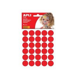 Apli Kids Apli Kids stickers cirkel diameter 20mm met 180st rood