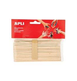 Apli Kids Apli Kids houten sticks XXL 40 stuks [5st]