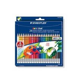 Staedtler Staedtler kleurpotlood Noris Club uitgombaar 24 potloden