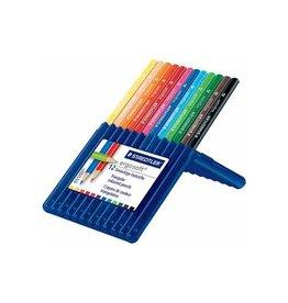 Staedtler Staedtler driehoekig kleurpotlood Ergosoft 12 potloden