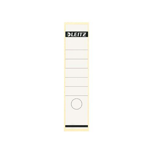 Rugetiket Leitz 1640 58x290mm zelfklevend wit
