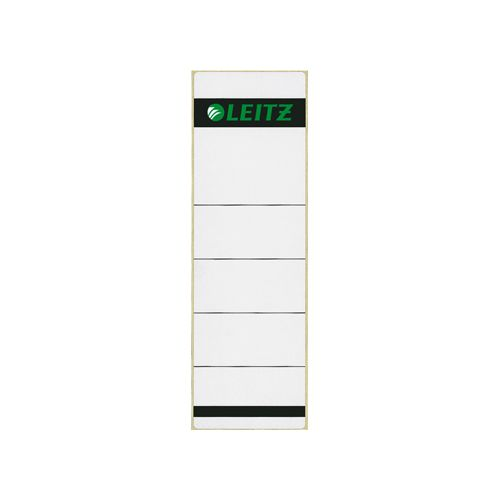 Rugetiket Leitz 1642 58x190mm zelfklevend wit