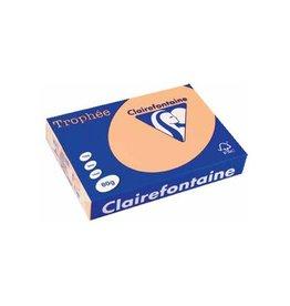 Clairefontaine Papier Clairefontaine Trophée Pastel A4 zalm, 80 g, 500 vel
