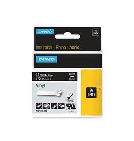 Dymo Lettertape Dymo 1805435 12mm zwart/wit [5st]