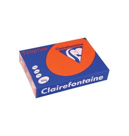 Clairefontaine Papier Clairefontaine Trophée Intens A4 kardinaal rood, 80g 500 vel
