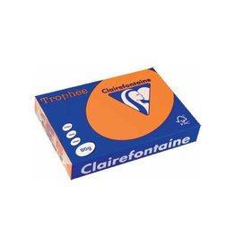 Clairefontaine Papier Clairefontaine Trophée Pastel A4 oranje, 80 g, 500 vel