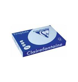 Clairefontaine Papier Clairefontaine Trophée Pastel A3 azuurblauw, 80 g, 500 vel