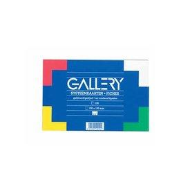 Gallery Gallery gekleurde systeemkaarten ft 10 x 15 cm
