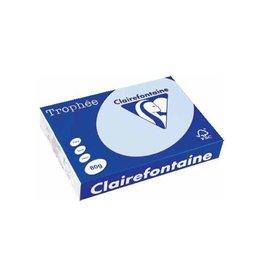 Clairefontaine Papier Clairefontaine Trophée Pastel A4 blauw, 80 g, 500 vel