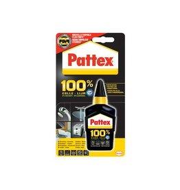Pattex Pattex alleslijm 100%, op blister, tube van 50 g