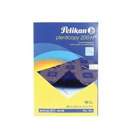 Pelikan Carbonpapier Pelikan Plenticopy 200H A4 Blauw 10vel