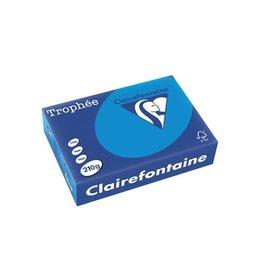 Clairefontaine Papier Papier Clairefontaine Trophée A4 210gr Turkoois 250vel