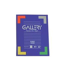Gallery Gallery schrift, ft 16,5 x 21 cm, gelijnd, 72 bladzijden