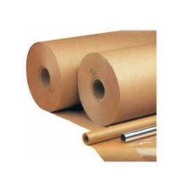 Inpakpapier op rol 90 g/m², ft 5 m x 70 cm, kraft