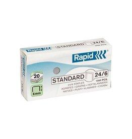 Rapid nieten Rapid 24/6 gegalvaniseerd standaard (1000st)