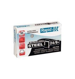 Rapid Rapid nietjes 24/8, roestvrij staal, doos van 1.000 [5st]