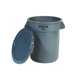 Rubbermaid commercial products Rubbermaid deksel voor afvalcontainer Brute, grijs