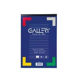 Gallery Gallery schrijfblok ft 21 x 29,7 cm (A4), gelijnd