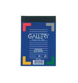 Gallery Gallery notitieblok, ft A7, gelijnd, blok van 100 vel