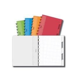 Adoc Adoc Schrift Colorlines ft 16,5 x 21 cm (A5), geruit 5 mm