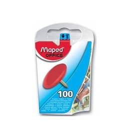 Maped Office Maped punaises assortiment, doos van 100 stuks
