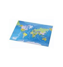 Esselte Onderlegger Esselte met wereldkaart 40x5