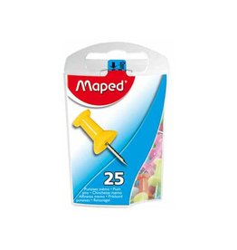 Maped Office Maped prikbordspelden, ophangdoosje met 25 stuks