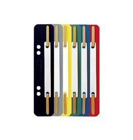 Leitz Leitz snelhechters, PP, geassorteerde kleuren, pak van 250st