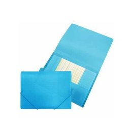 Beautone Beautone elastomap met kleppen, ft A4, blauw