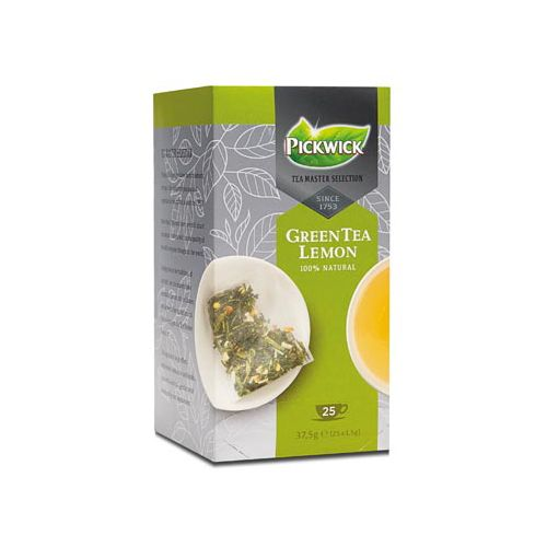 Thee Pickwick Master Selection green lemon 25 zakjes 1.5gr