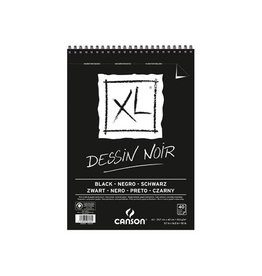 Canson Canson tekenblok XL 150g/m² ft A3, 40 vel, zwart [4st]