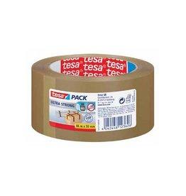 Tesa Tesa verpakkingsplakband ft 50 mm x 66 m, PVC, bruin
