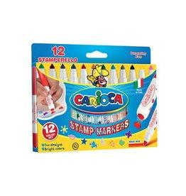 Carioca Carioca stempelstift Superwashable 12 stiften (= 12 kleuren