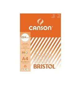 Canson Canson tekenblok Bristol ft 21 x 29,7 cm (A4)